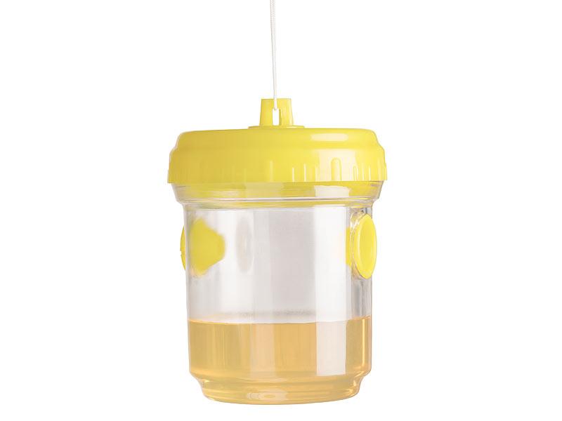 Merkts 1 x Wespenfalle zum Aufh/ängen Essentials Wespenf/änger Sommer-Sch/ädlingsbek/ämpfung f/ür den Au/ßenbereich Hornet Bienenhaus f/ür den Garten